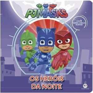 Livro-Pj-Masks-Os-Herois-da-Noite---Ciranda-Cultural