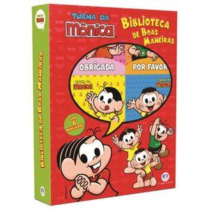 Livro-Turma-da-Monica-Biblioteca-de-Boas-Maneiras---Ciranda-Cultural