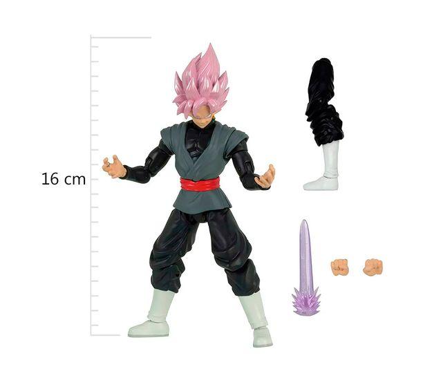 Dragon-Ball-Super-Boneco-Articulado-Colecionavel-Rose-Goku-Black---Brinquedos-Chocolate