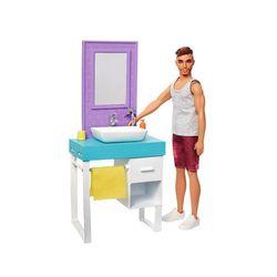 Barbie-Ken-Playset-Banheiro---Mattel
