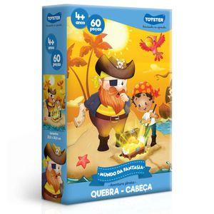 Quebra-Cabeca-Mundo-da-Fantasia-Aventura-Pirata-60-Pecas---Toyster
