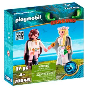 Playmobil-Como-Treinar-o-seu-Dragao-3-Bridal-Couple-Hiccup-e-Astrid---Sunny