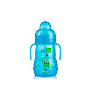 Copo-de-Transicao-Trainer-Boys-220-Ml-Bichos-Azul---MAM-Baby