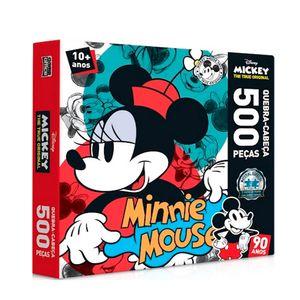 Quebra-Cabeca-500-Pecas-90-Anos-Minnie-Mouse---Toyster