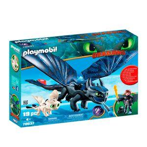 Playmobil-Como-Treinar-o-seu-Dragao-3-Soluco-e-Banguela-com-Bebe-Dragao---Sunny