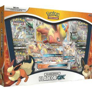 Pokemon-Box-Evolucoes-Eevee-GX-Flareon-GX---Copag