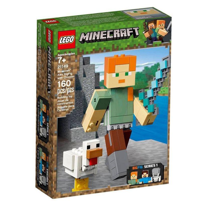 ea867b07c9e0 Lego Minecraft 21149 BigFig Alex com galinha - Lego | Toymania ...