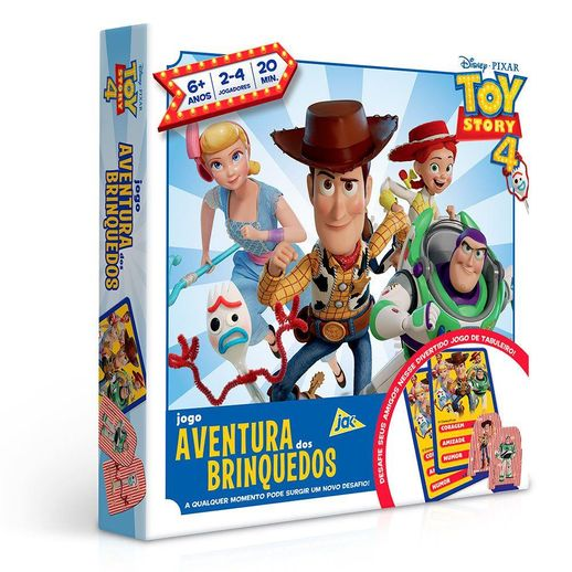 Jogo Aventura Dos Brinquedos Toy Story 4 Toyster Toymania Toymania Mobile