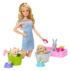Barbie-Banho-de-Cachorrinhos---Mattel