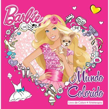 Livro Barbie Mundo Colorido Ciranda Cultural Toymania