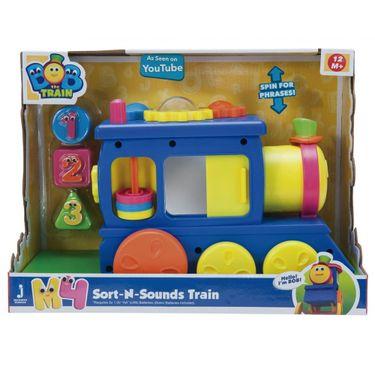 Brinquedo Educativo Bob O Trem Sons E Formas Fun Divirta Se