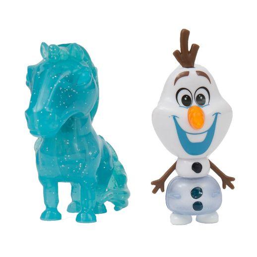Mini Bonecos Frozen 2 Nokk E Olaf Fun Divirta Se Toymania