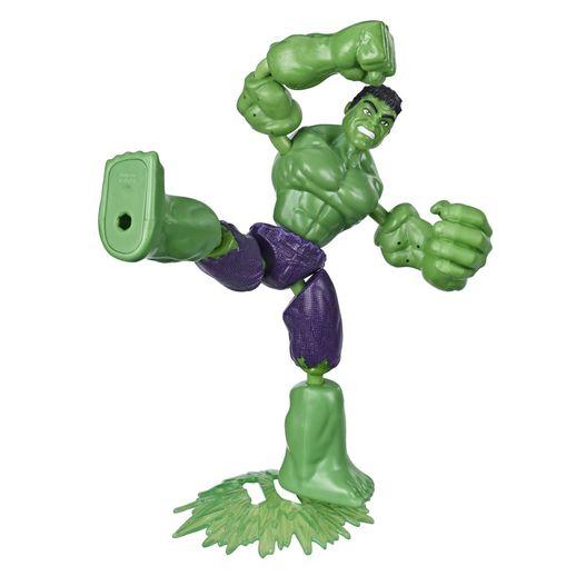 Boneco Hulk Vingadores Bend And Flex Hasbro Toymania