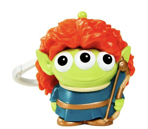 Pixar-Alien-Chaveiro-Remix-Merida---Mattel